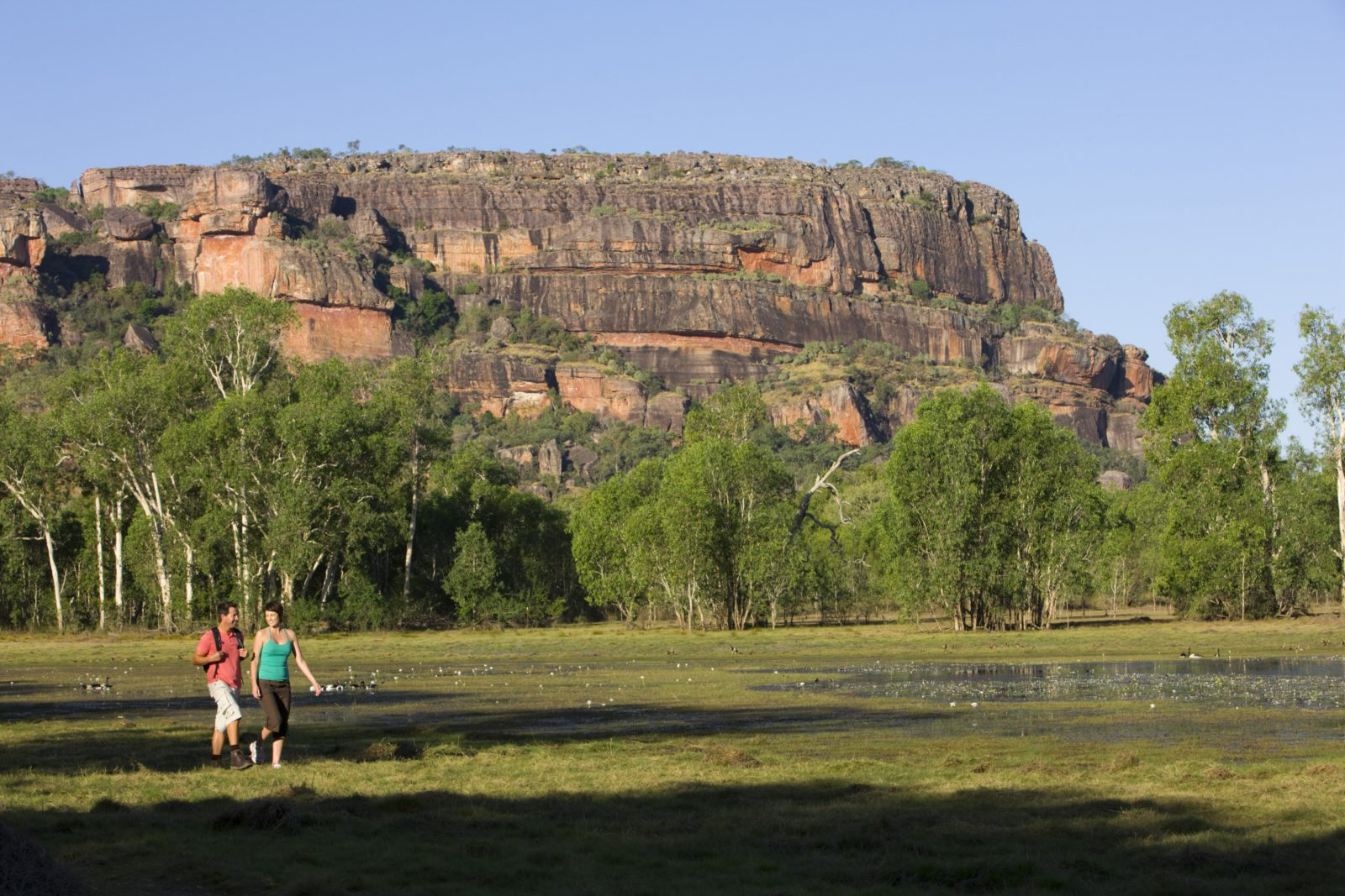 Sandstone and River Bushwalk, Kakadu Area, Northern Territory, Australia