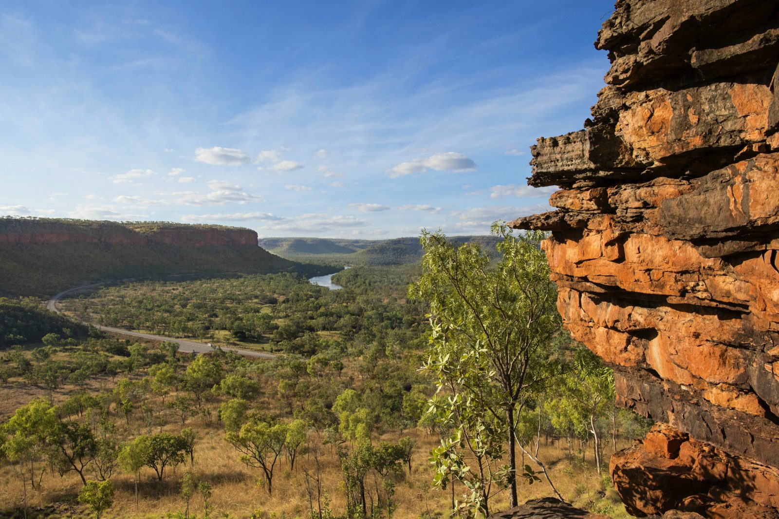 View over Gregory National Park