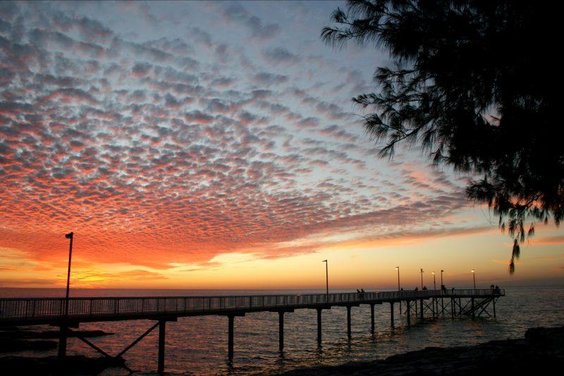 Sunset at Nightcliff Jetty