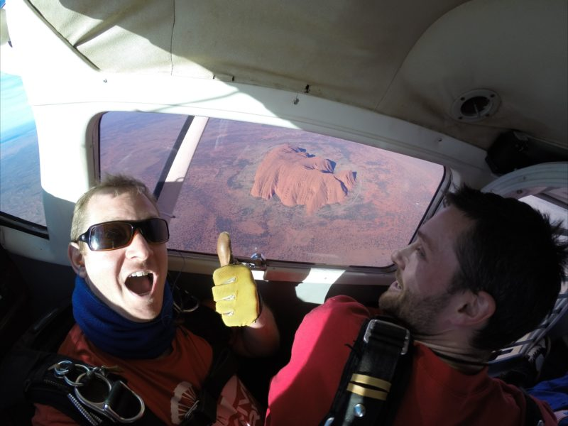 The only way to see Uluru (Ayers Rock) from this height!