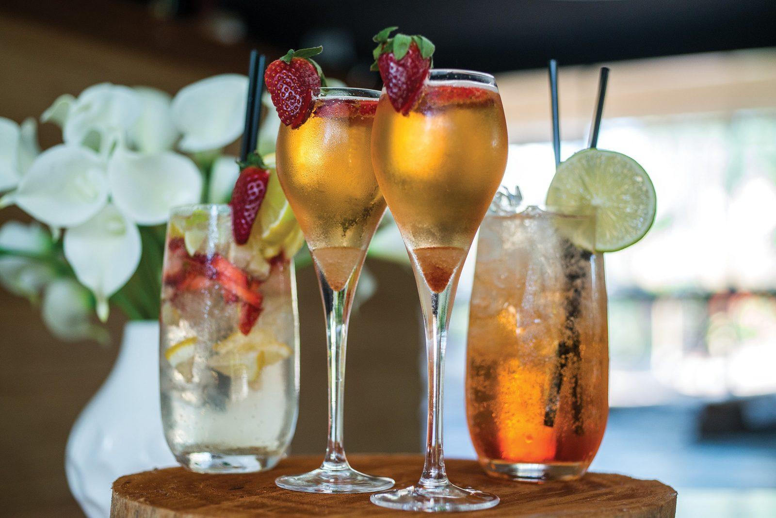 Cocktails, Wine & Beer