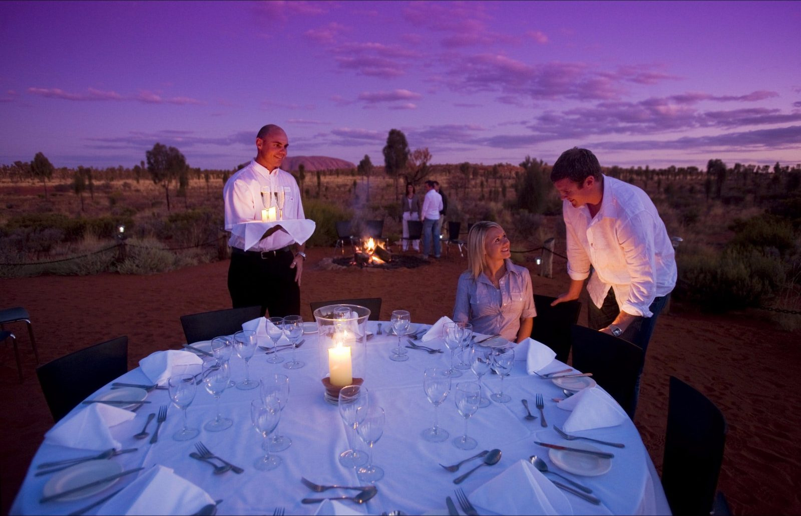 Dine under a desert sky at Sounds of Silence
