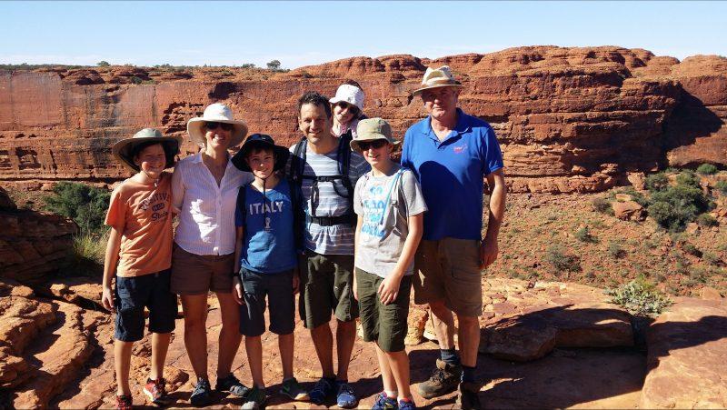 Fun Family tours at Kings Canyon MacDonald Ranges with Spirit Safaris