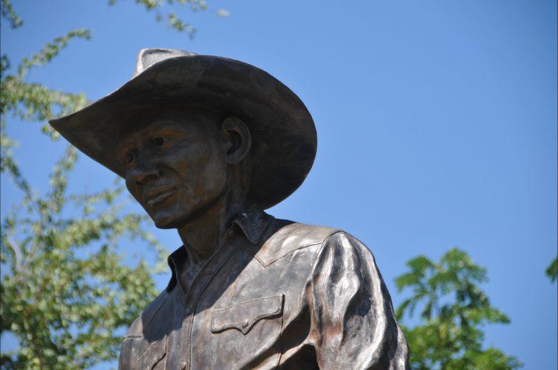 Detail of memorial.