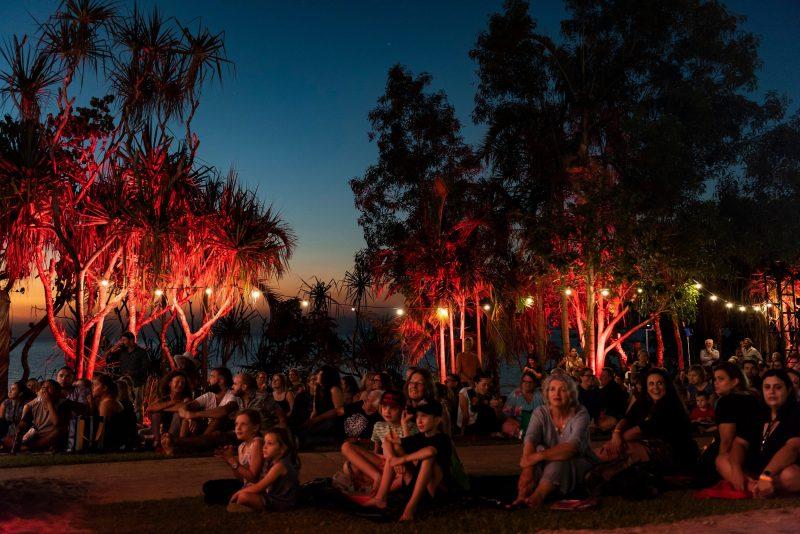 Sunset at the 35th Telstra National Aboriginal and Torres Strait Islander Art Award