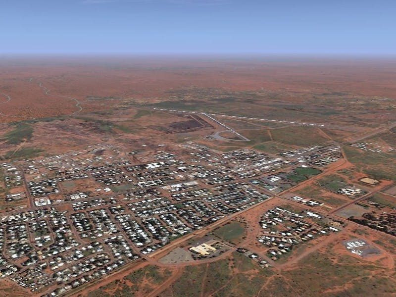 Tennant Creek Airport, Tennant Creek Area, Northern Territory, Australia
