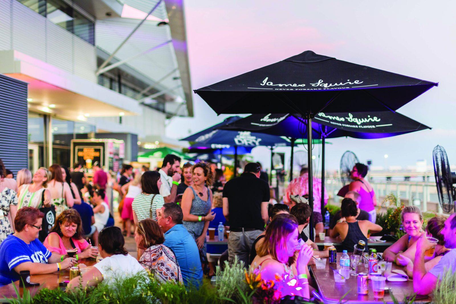 Territory Taste Festival 2016 Beer Garden
