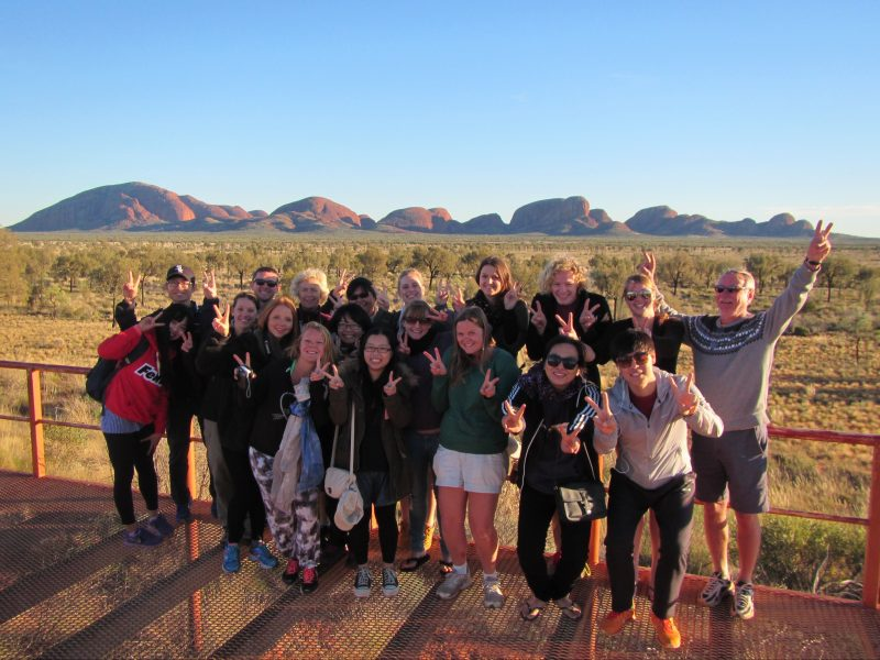 Kata Tjuta viewing area