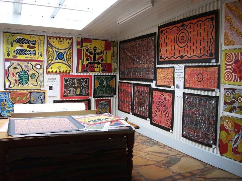 The Stockyard Gallery - Mataranka Area - Northern Territory