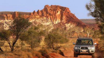 Rainbow Valley, Explorer's Way, NT