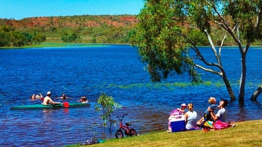 Tingkkarli / Lake Mary Ann, Tennant Creek Area, Northern Territory, Australia