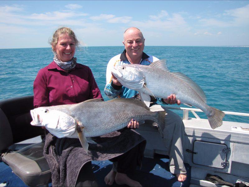 Bluewater jewie fishing