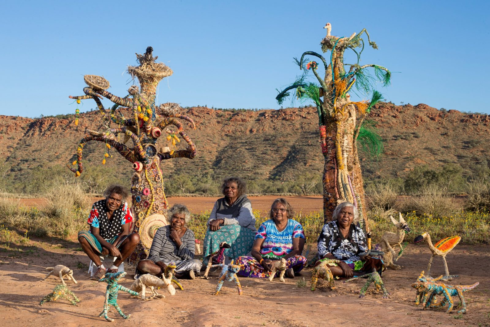APY Tjanpi Desert Weavers Senior artists