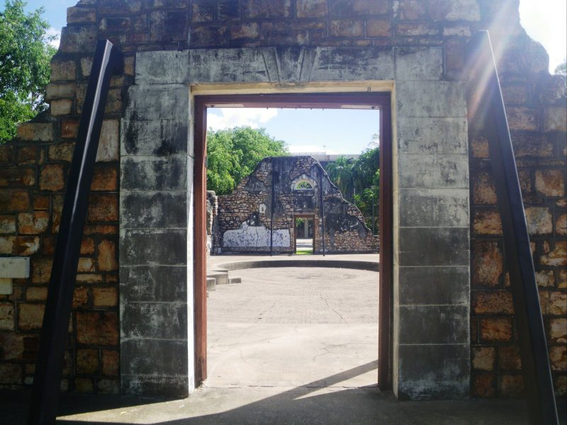 The Palmerston Town Hall Ruins