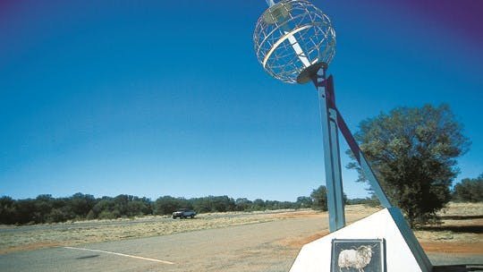 Tropic of Capricorn Marker - Alice Springs Area Northern Territory