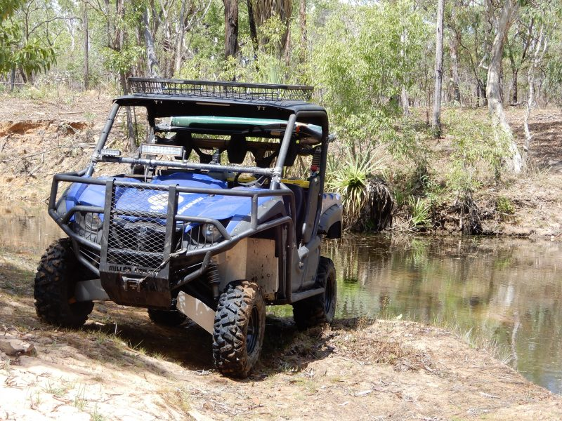 All touring is conducted in our 4x4 all terrain hunting vehicles.