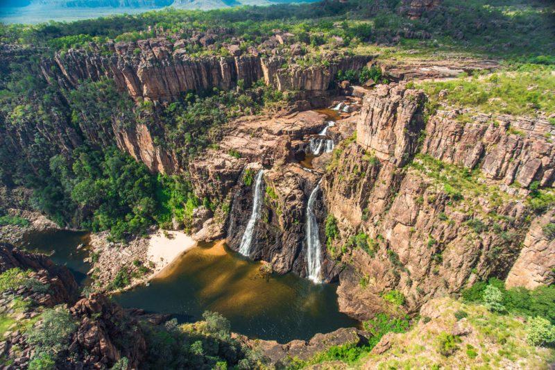 Twin Falls ariel