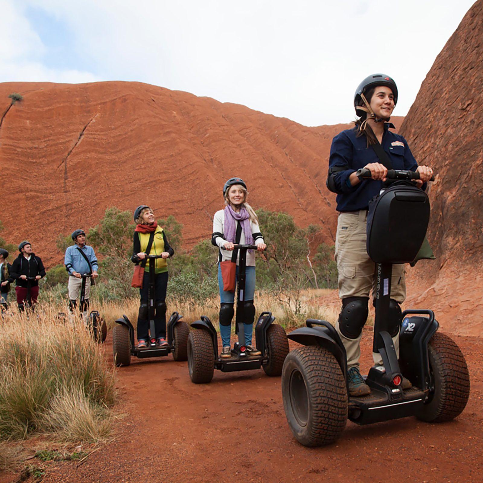 Gliding around Uluru