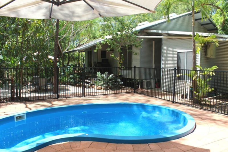 Relax in the privacy of your own plunge pool, set amongst tropical bush gardens and just metres from