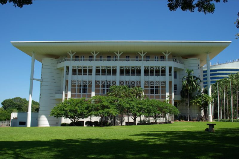 exterior of Northern Territory Parliament House building