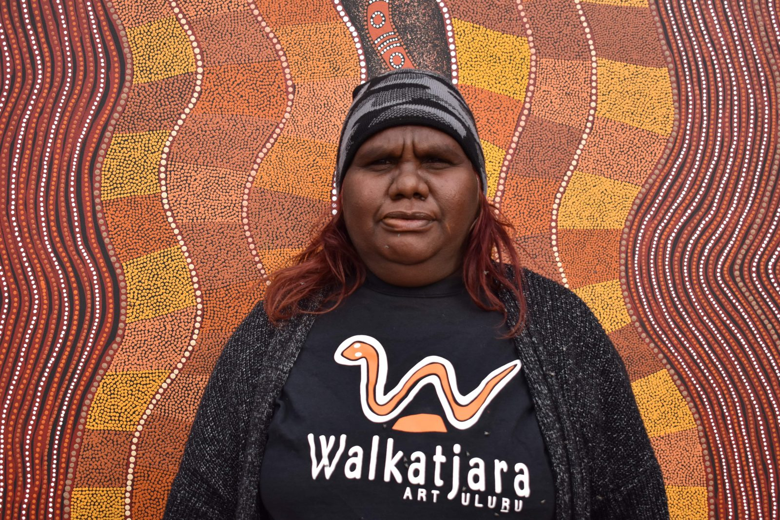 Walkatjara Art provides visitors a unique opportunity to experience the production of Anangu Art.