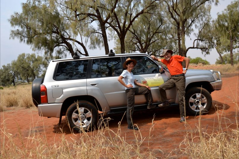 7-seater 4WD vehicle for small groups
