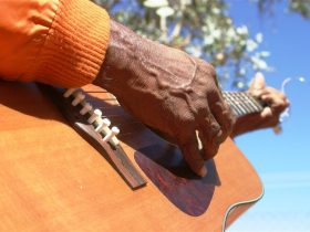 Winanjjikari Music Centre, Tennant Creek Area, Northern Territory, Australia