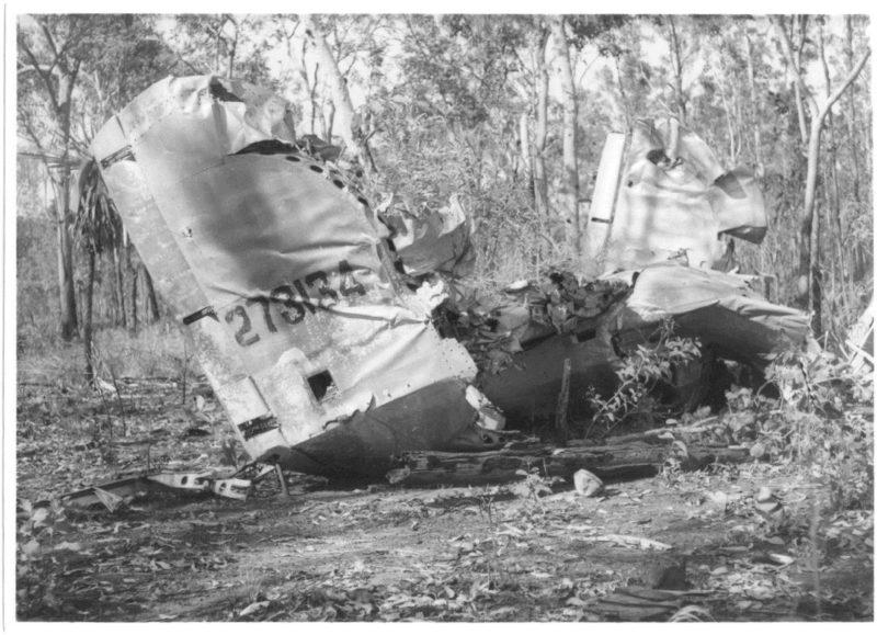 Wreck of B24J Liberator Bomber Milady 2