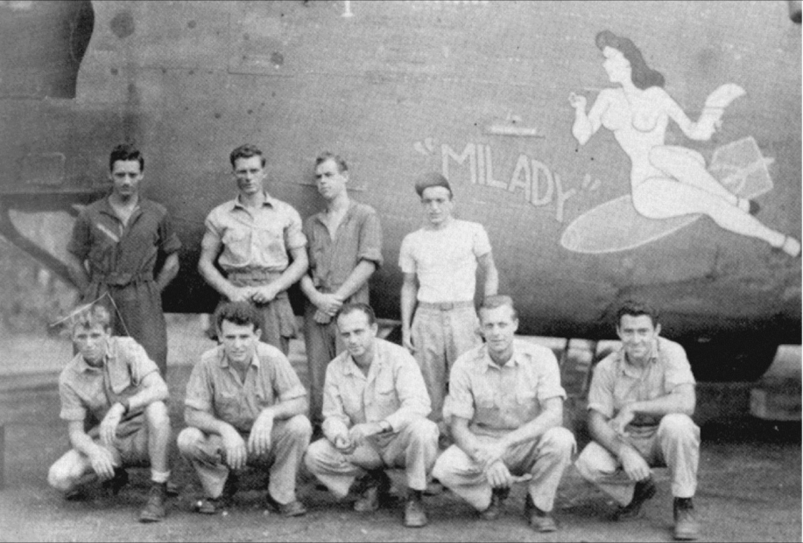 Crew of the B24J Milady