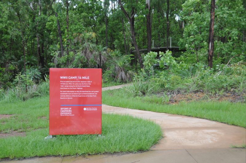 Identification signage for the site at Mackillop Court.