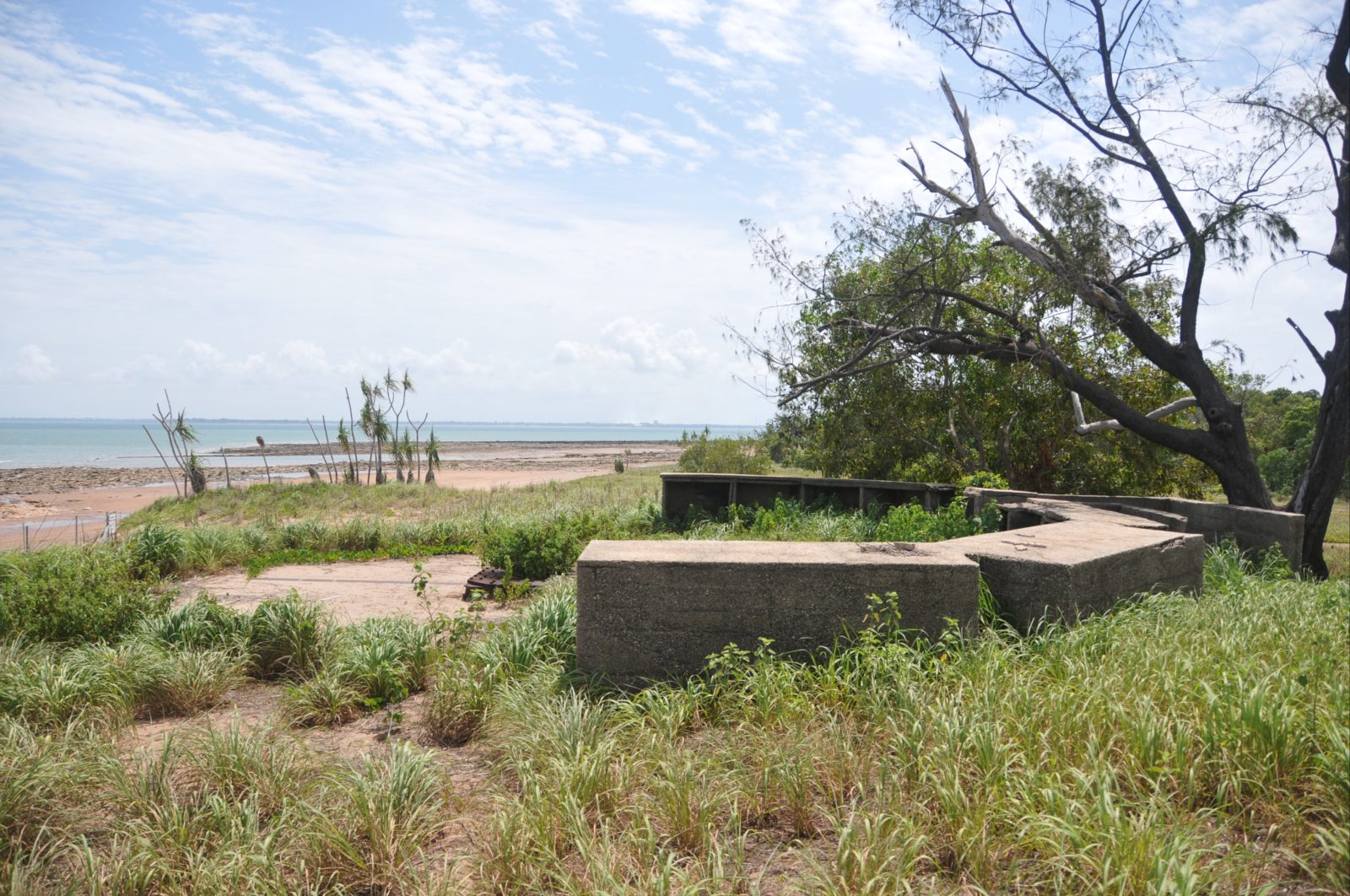 Gun Emplacement and associated infrastructure.