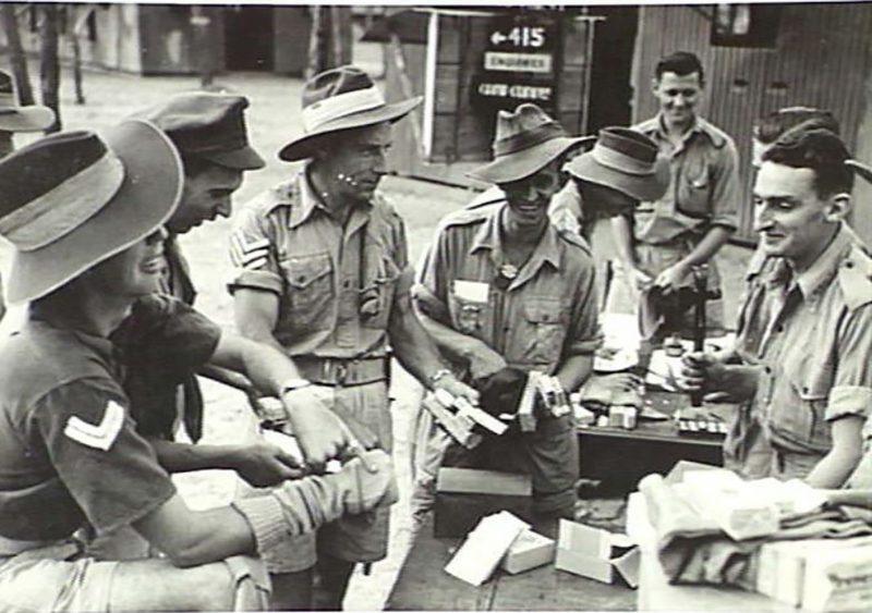 1943 - Comfort Fund Issue, Noonamah Depot.