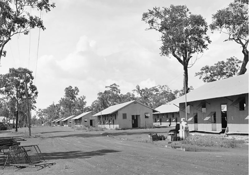Sidney Williams Huts, Winnellie Camp, 1946.