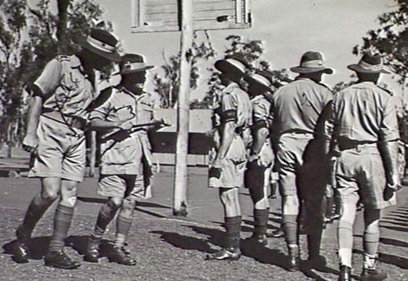 1943 - Winnellie Camp.