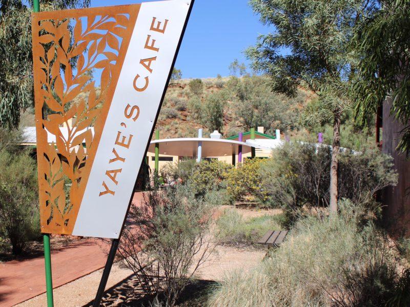 Yaye's Cafe Sign