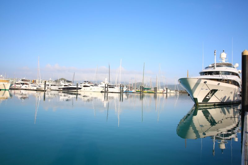 Abell Point Marina - on water