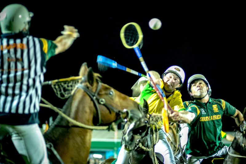 The intensity of world championship polocrosse