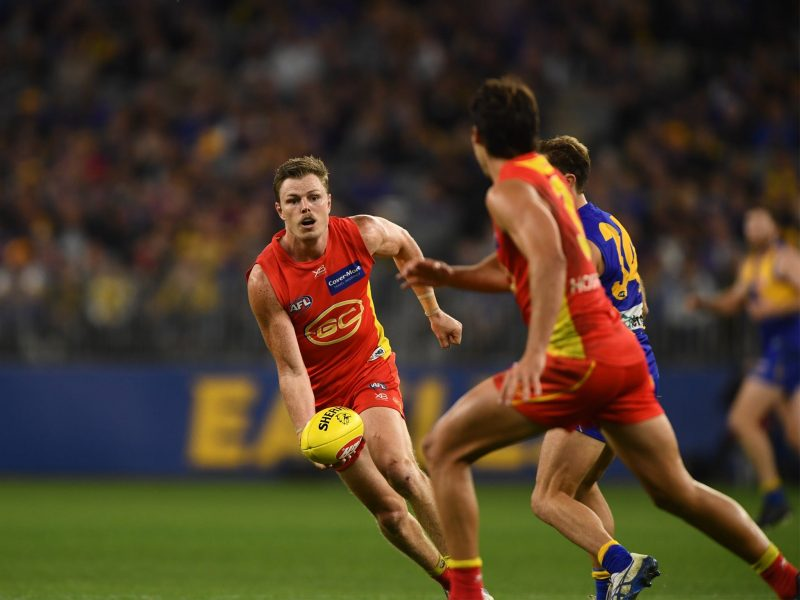 GC SUNS v WEST COAST EAGLES