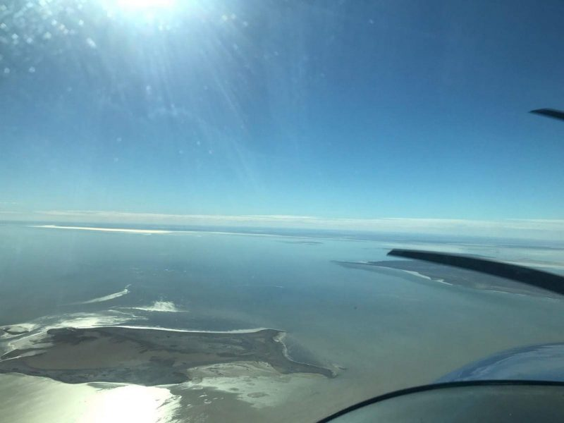 Beautiful shot of Kati Thanda - Lake Eyre from the North on our 1 day tour