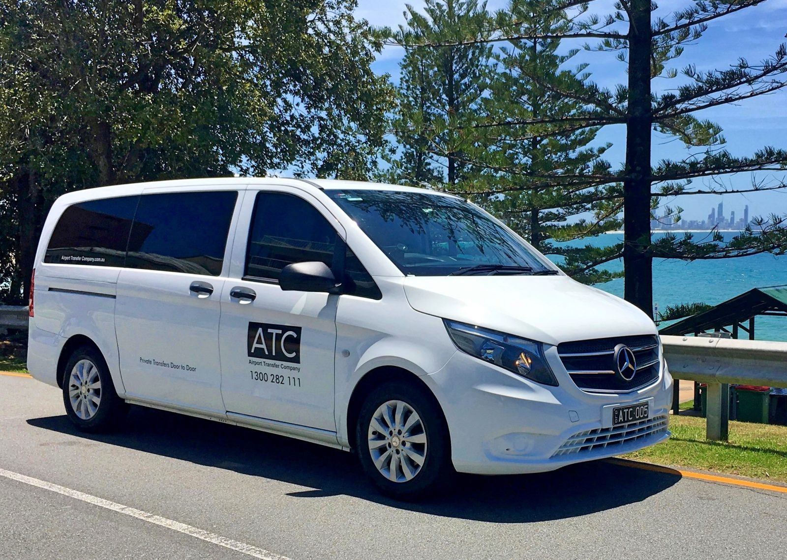 ATC offers door to door airport shuttle and private transfers