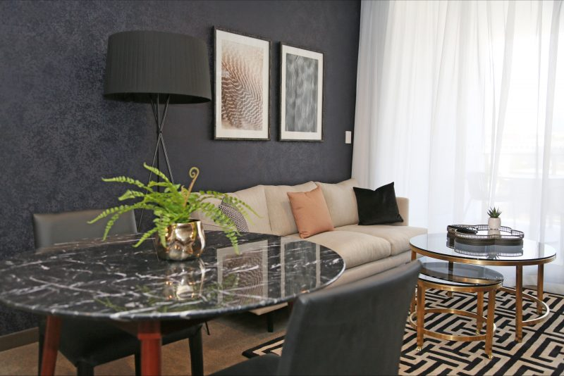 1 Bedroom Executive Living Room ''Brunette'' palette