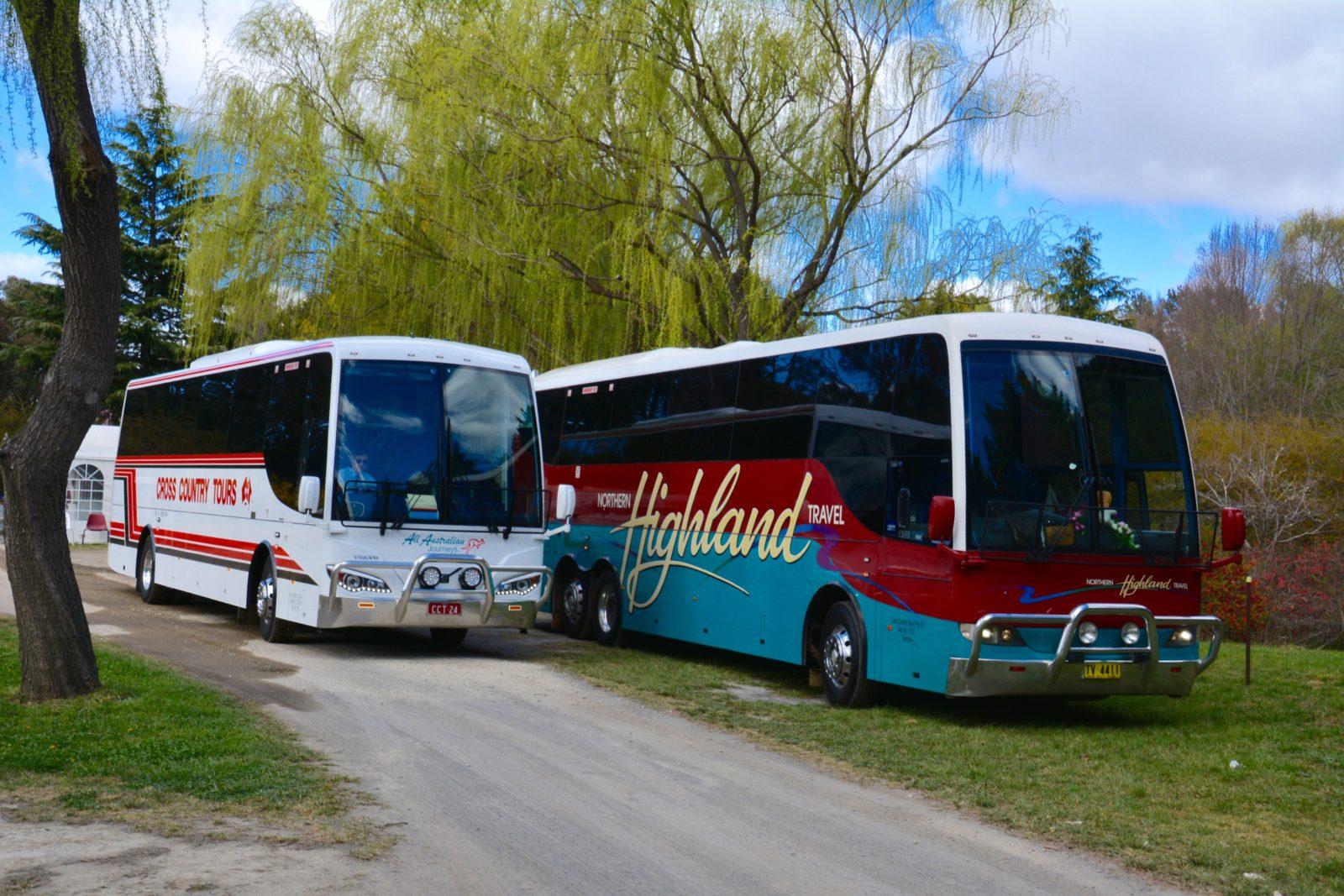 coach holiday to Tulip Top Gardens Bowral