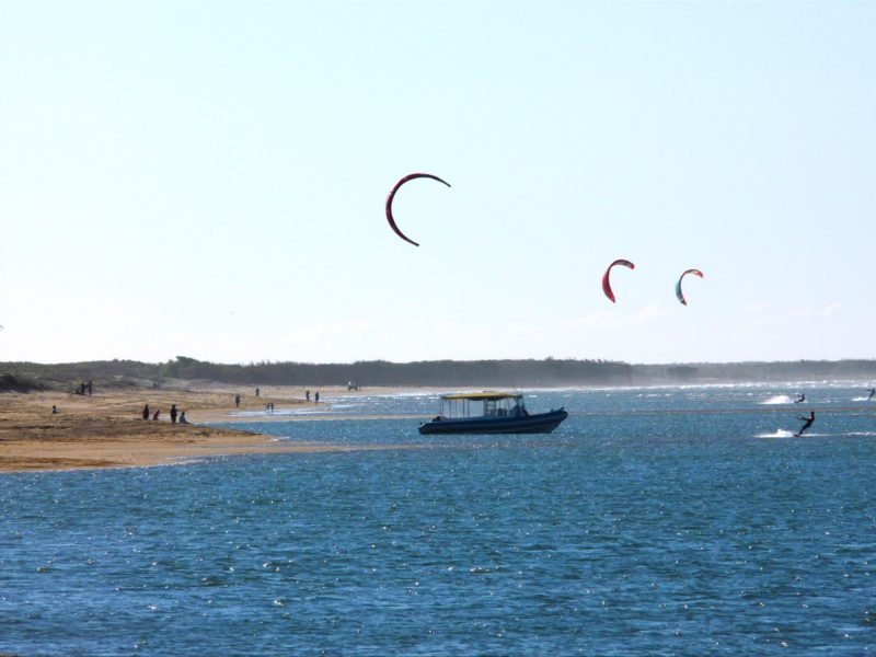 Alva Beach is well suited to water activities as it has a well protected inshore area.