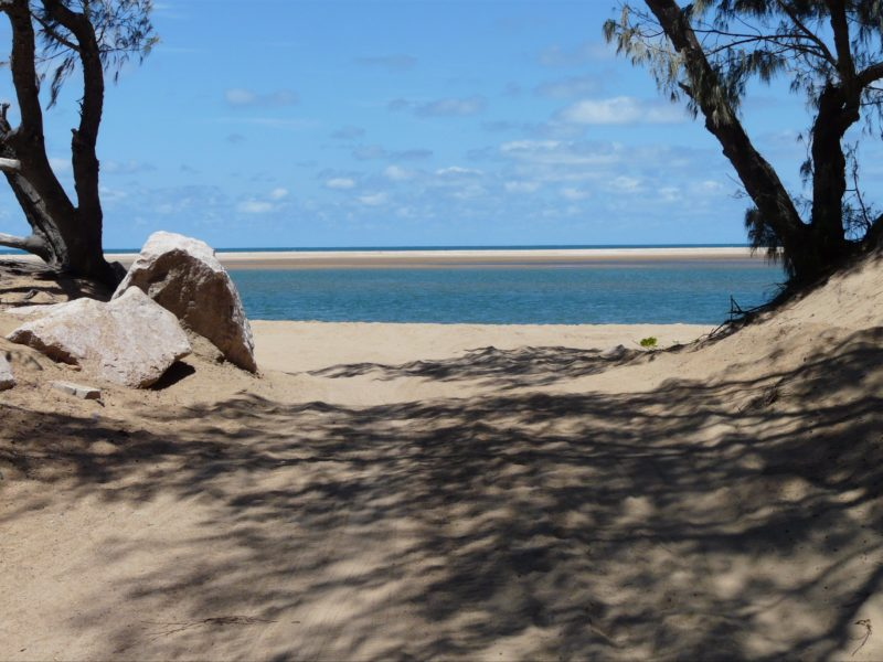 Alva Beach, part of the Burdekin region, North Queensland, is popular for fishing, with many anglers bringing in decent catches to show off. Outer sand bars create inshore lagoon areas, excellent for fishing and kite surfing.