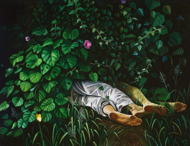 Anne WALLACE, Morning Glory 2004, oil on canvas.