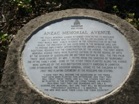 Anzac Memorial Avenue