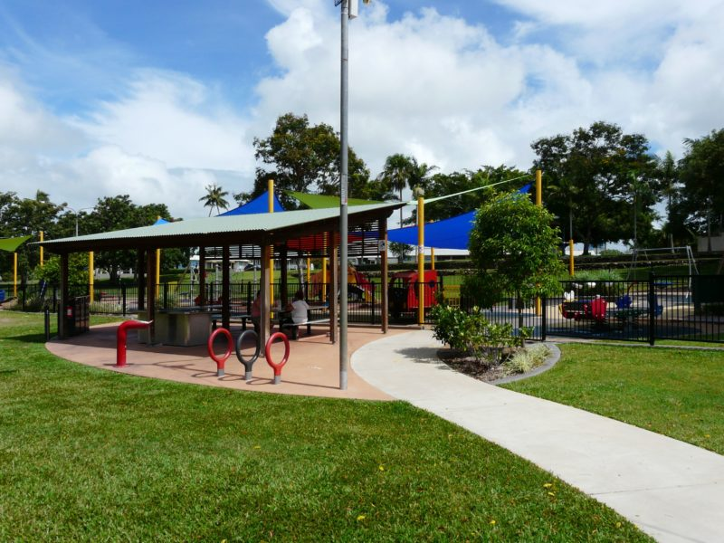 Ayr's Anzac Park has a variety of playground equipment, is fully fenced and is a fantastic place to take the family. The all abilities playground allows children in wheelchairs to be included in the fun.