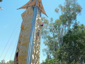 South east Queensland's Largest Outdoor Rock Climbing Wall