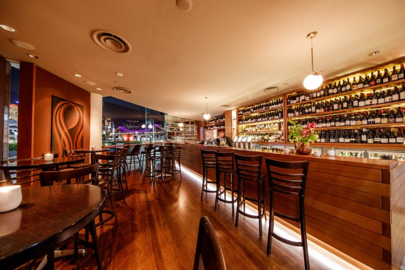 Our award-winning bar is home to the 2018 Australian Wine List of the Year – Good Food Guide Awards.