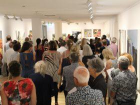 Image: Exhibition opening, 2019. Courtesy of Redland Art Gallery.